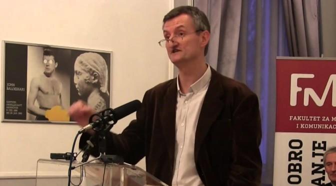 Predavanje Ivana Milenkovića u okviru ciklusa Idiom: ZAŠTO NEMA DRUŠTVENE KRITIKE? Filozofija i banalnost